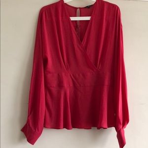 Cue Australia red shirt